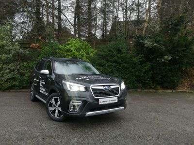 Subaru Forester 2.0i e-Boxer XE Premium 5dr Lineartronic Estate Petrol / Electric Hybrid Black at Subaru Used Vehicle Locator Coleshill