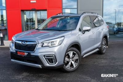 Subaru Forester 2.0i e-Boxer XE Premium 5dr Lineartronic Estate Petrol / Electric Hybrid Silver at Subaru Used Vehicle Locator Coleshill