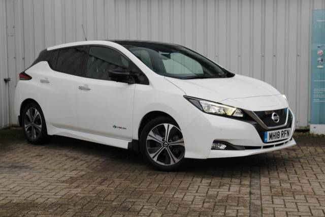 Nissan Leaf 0.0 110kW Tekna 40kWh 5dr Auto Hatchback Electric WHITE