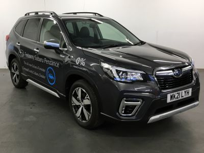 Subaru Forester 2.0i e-Boxer XE Premium 5dr Lineartronic Four Wheel Drive Petrol/Electric Hybrid Black at Subaru Used Vehicle Locator Coleshill