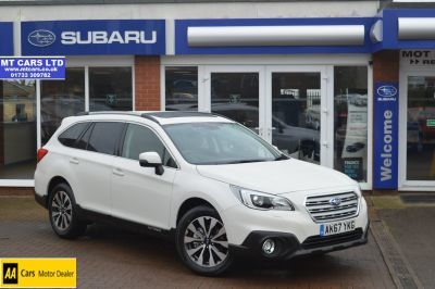 Subaru Outback 2.5i SE Premium 5dr Lineartronic Estate Petrol Grey at Subaru Used Vehicle Locator Highland