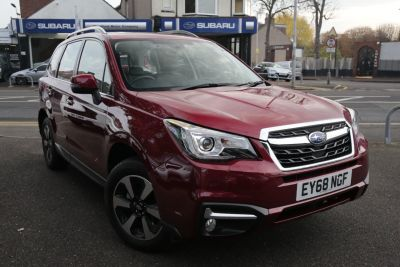 Subaru Forester 2.0 XE Premium Lineartronic 5dr Estate Petrol Red at Subaru Used Vehicle Locator Beauly