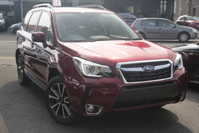 Subaru Forester 2.0 XT 5dr Lineartronic Estate Petrol Red