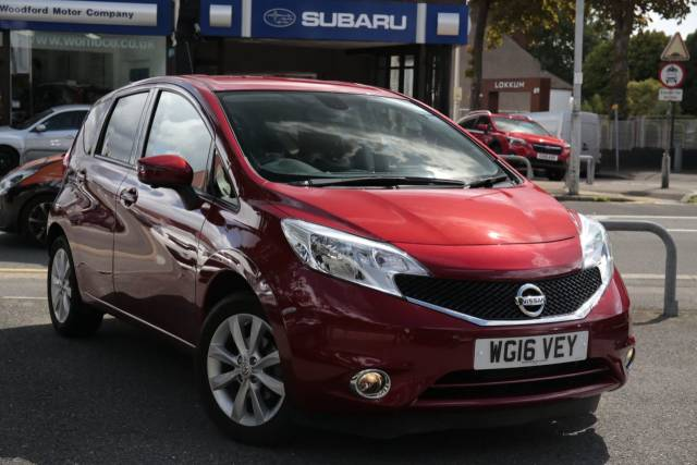 Nissan Note 1.2 DiG-S Tekna 5dr Auto MPV Petrol Red