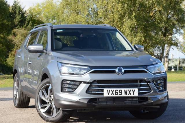 SsangYong Korando 1.6TD (136ps) 4X4 Ultimate SUV Diesel Platinum Gray